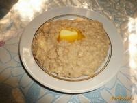 Рецепт Овсяная каша с сыром рецепт с фото
