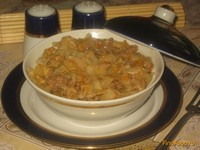 Рецепт Капуста по-флотски рецепт с фото