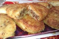 Рецепт Картофельные пирожки с печенкой рецепт с фото