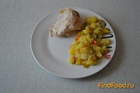 Рецепт Куриные ножки и крылышки в рукаве рецепт с фото