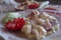 Рецепт Омлет с сосисками рецепт с фото