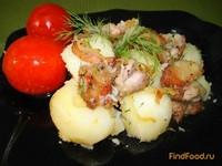 Рецепт Картофель с поджаркой рецепт с фото