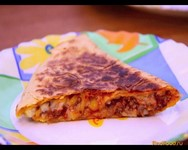 Рецепт Кесадилья с мясом рецепт с фото