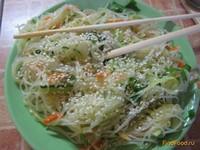 Рецепт Фунчоза с овощами рецепт с фото