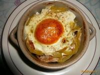 Рецепт Свинина с болгарским перцем в горшочках рецепт с фото