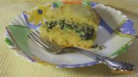 Рецепт Запеканка картофельно-куриная со шпинатом рецепт с фото