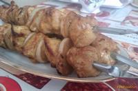 Рецепт Шашлык из куриной грудки рецепт с фото