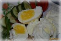 Рецепт Вареные яйца в пакете рецепт с фото