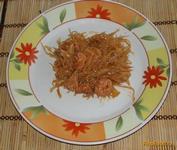 Рецепт Капуста с сосисками рецепт с фото