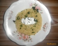Рецепт Картофельное пюре со сметаной и зеленью рецепт с фото
