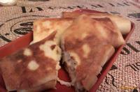 Рецепт Блинчики с курицей и сыром рецепт с фото
