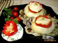Рецепт Патиссоны фаршированные рецепт с фото