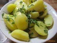 Рецепт Картофель ароматный рецепт с фото