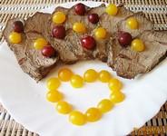 Рецепт Мясо с вишнями и корицей рецепт с фото