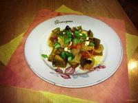 Рецепт Пикантные баклажаны рецепт с фото