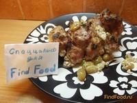 Рецепт Молодая телятина в сметано-виноградном маринаде рецепт с фото