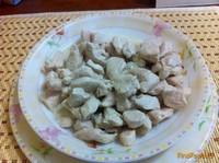 Рецепт Куриное филе тушеное в сметане рецепт с фото