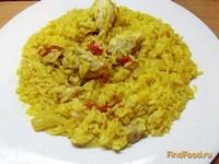Рецепт Рис с тушеными овощами и курицей рецепт с фото