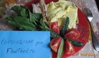 Рецепт Пышный домашний омлет рецепт с фото