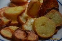 Рецепт Картошка в мундирах жареная рецепт с фото