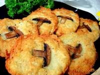 Рецепт Драники из картофеля с грибным припёком рецепт с фото