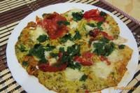 Рецепт Яичница с моцареллой рецепт с фото