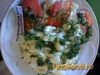 Рецепт Макароны отварные со сливочным маслом и помидорами рецепт с фото
