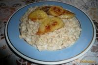 Рецепт Овсяная каша с бананом рецепт с фото