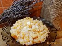 Рецепт Тыквенная каша с рисом рецепт с фото