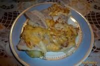 Рецепт Картофель запеченный с беконом и сыром рецепт с фото