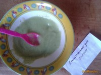 Рецепт Детское пюре из брокколи и картофеля рецепт с фото