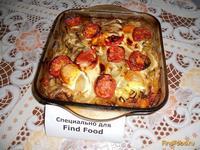 Рецепт Кабачки и Ко запеченные в духовке с яйцами рецепт с фото