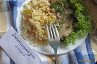 Рецепт Рисовый гарнир к рыбе рецепт с фото
