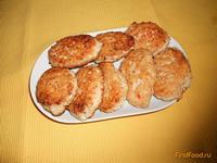 Рецепт Котлеты куриные с помидором рецепт с фото