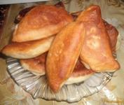 Рецепт Домашние пирожки с начинкой из картофеля и курицы рецепт с фото