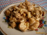 Рецепт Грибы дождевики в сметане рецепт с фото