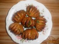 Рецепт Запеченный картофель с салом рецепт с фото