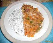 Рецепт Капуста с овощной смесью рецепт с фото