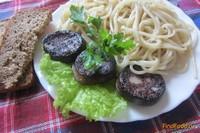 Рецепт Паста с кровяной колбасой и травами рецепт с фото