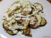 Рецепт Кабачковая запеканка с яйцами рецепт с фото