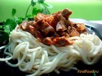 Рецепт Куриные желудочки в томатном соусе рецепт с фото
