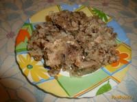 Рецепт Каша Дружба со свининой в духовке рецепт с фото