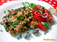 Рецепт Отбивные под грибным соусом рецепт с фото