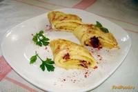 Рецепт Омлет с вялеными помидорами и сыром рецепт с фото