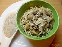 Рецепт Спагетти с маслятами и грибным соусом рецепт с фото