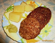 Рецепт Печеночно-рисовые котлетки рецепт с фото