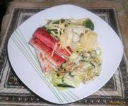 Рецепт Брокколи с крабовыми палочками рецепт с фото