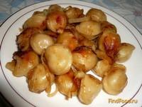 Рецепт Пельмени жареные с луком рецепт с фото