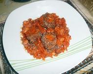 Рецепт Обжаренная гречка с мясом рецепт с фото