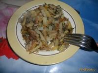 Рецепт Жаренный картофель с луком и укропом рецепт с фото
